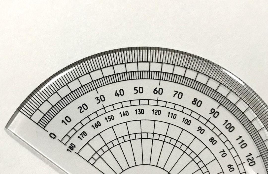 小学4年生の角の大きさの学習では分度器の見方をしっかり覚えよう